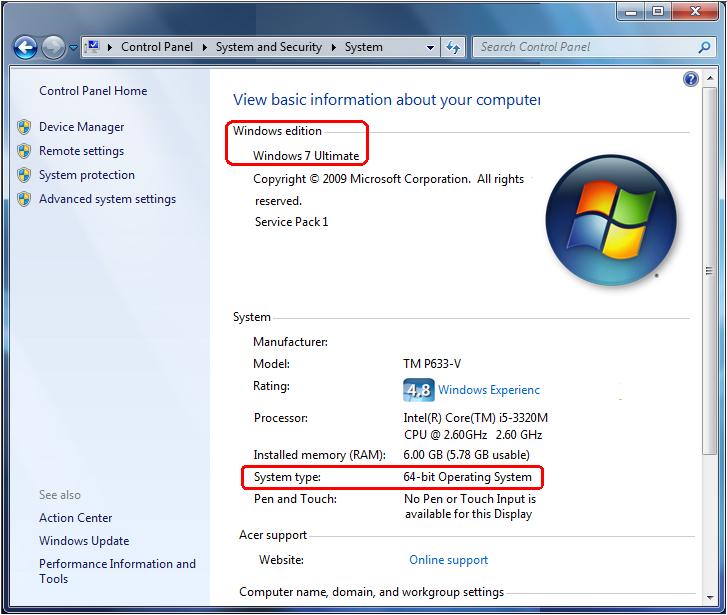 comment trouver version windows